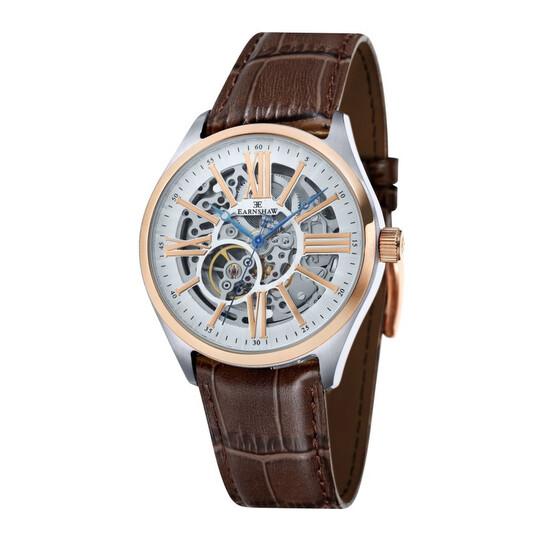 Thomas Earnshaw Armagh Automatic White Dial Men's Watch ES-8037-04 | Joma Shop