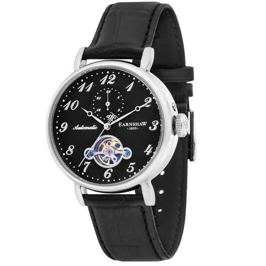 Thomas Earnshaw Grand Legacy Automatic Black Dial Men's Watch ES-8088-01 | Joma Shop