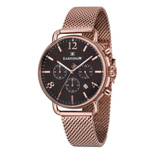 Thomas Earnshaw Investigator Quartz Brown Dial Men's Watch ES-8001-66   Joma Shop