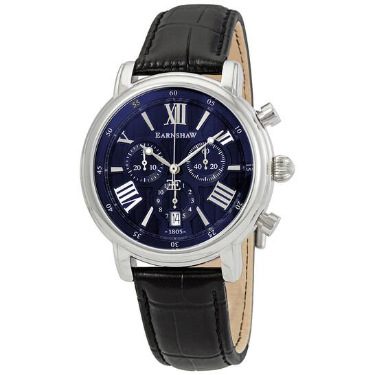 Thomas Earnshaw Longcase Blue Dial Men's Watch ES-0016-SETA-02   Joma Shop