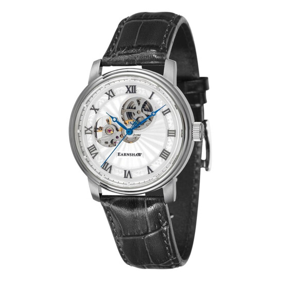 Thomas Earnshaw Westminster Mechanical Hand Wind White Dial Men's Watch ES-8097-01   Joma Shop