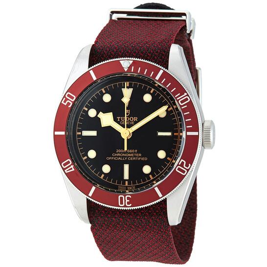 Tudor Black Bay Automatic Chronometer Black Dial Men's Watch M79230R-0009 | Joma Shop