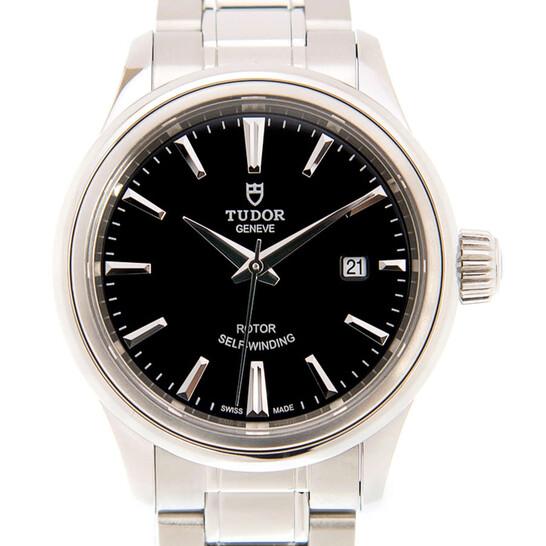Tudor Style Automatic Black Dial Ladies Watch 12100-0002 | Joma Shop