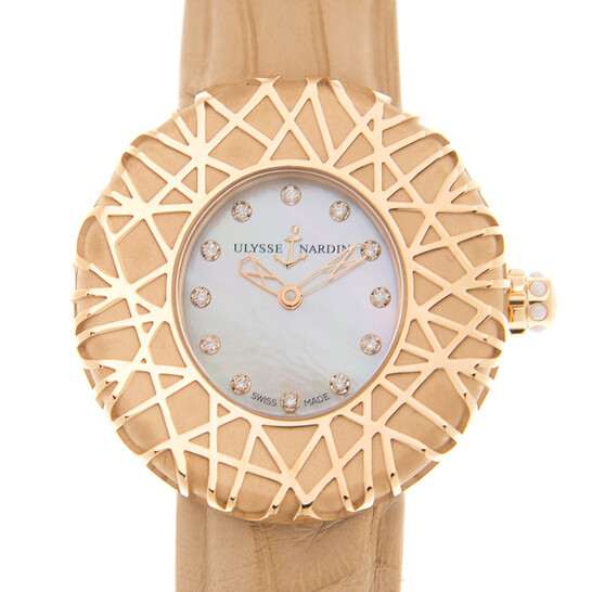 Ulysse Nardin CLASSIC Automatic Diamond White Dial Unisex Watch 8106108   Joma Shop