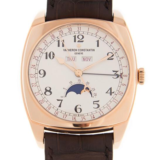 Vacheron Constantin Harmony Silver Dial 18kt Rose Gold Men's Watch 4000S/000R-B123 | Joma Shop