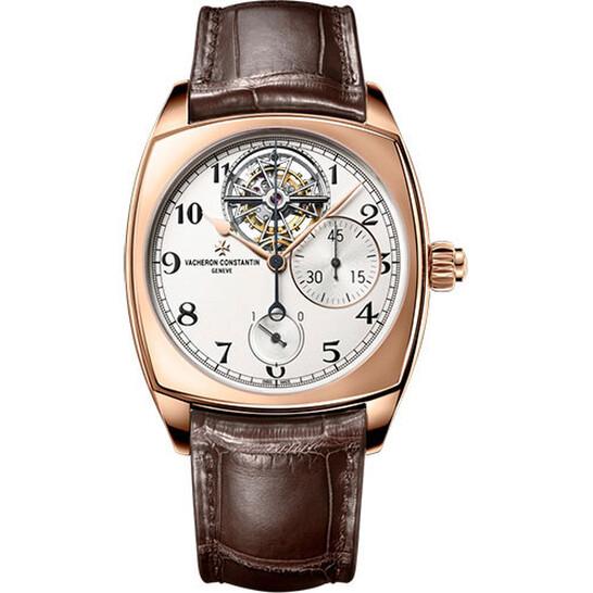 Vacheron Constantin Harmony Tourbillon Chronograph White Dial Men's Watch 5100S/000R-B125   Joma Shop