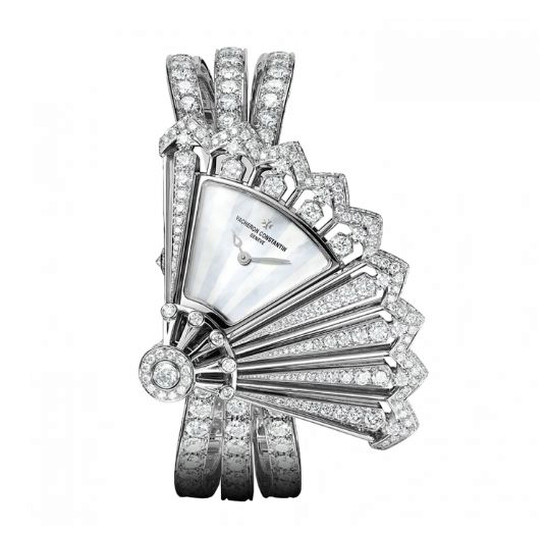 Vacheron Constantin Heures Creatives Diamond Silver Dial Ladies Watch 37531/F04G-B060   Joma Shop