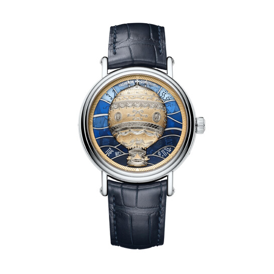 Vacheron Constantin Metiers d'Art Les Aerostiers Limted Edition Automatic Gold and Blue Dial Men's Watch 7610U/000G-B210   Joma Shop