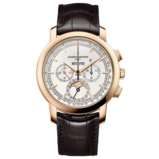 Vacheron Constantin Traditionnelle Perpetual Calendar Chronograph White Dial Men's Watch 5000T/000R-B304 | Joma Shop