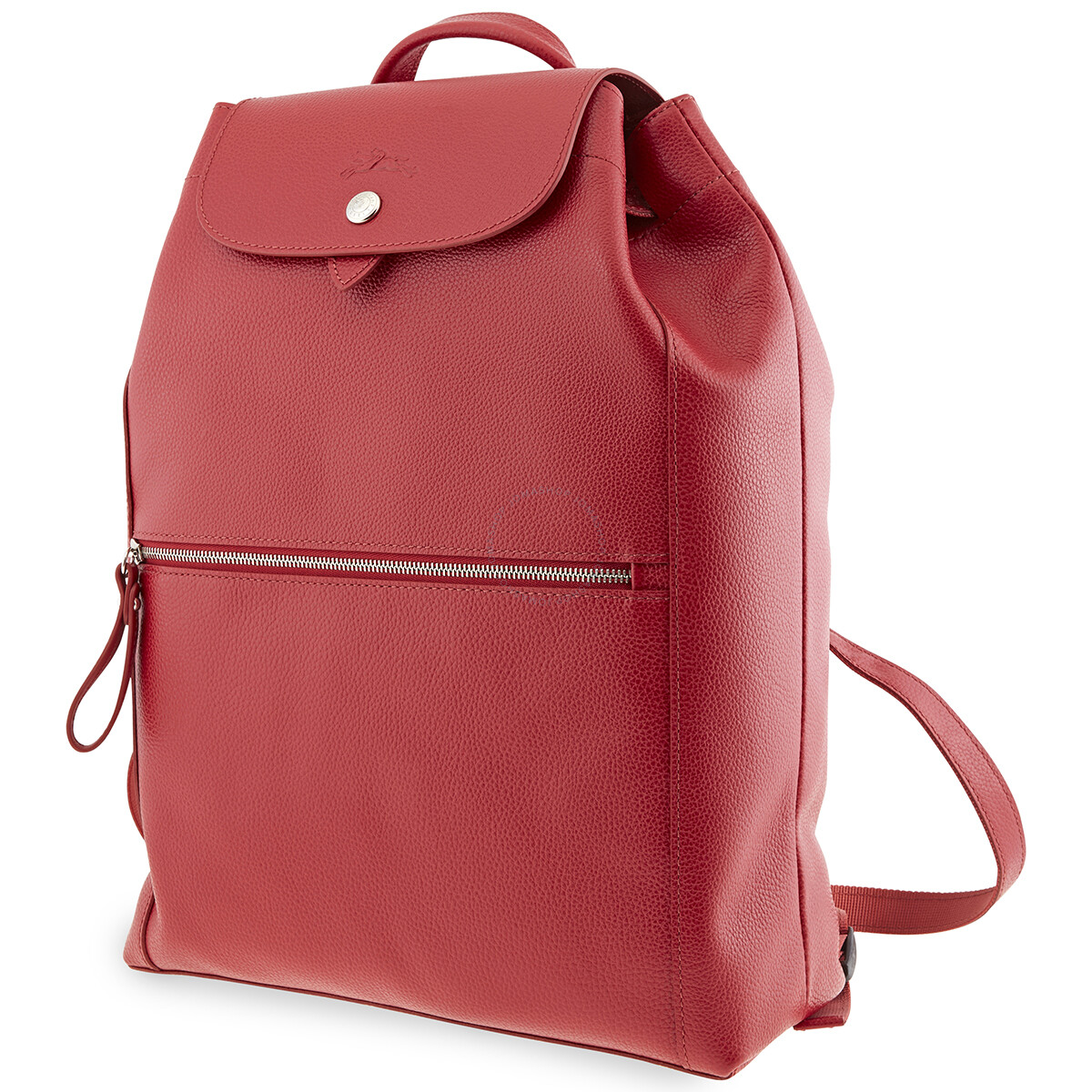 Longchamp Red Ladies Le Foulonne Backpack