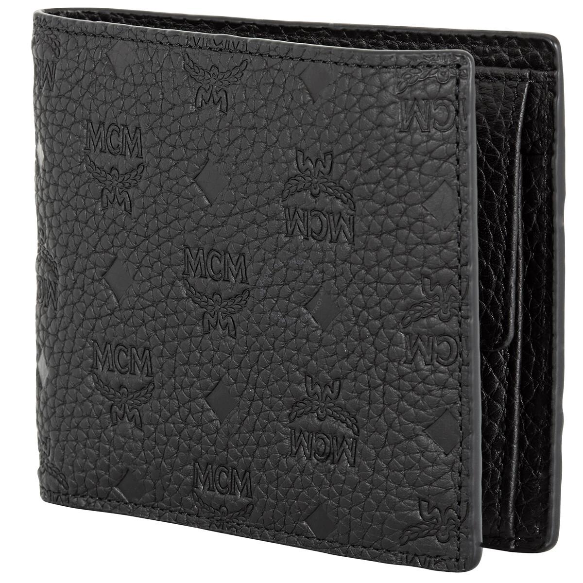Mcm Men's Monogram Leather Bifold Wallet MXS9ABT29BK ...