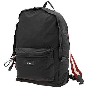 발리 백팩 Bally Flaire Black Nylon Backpack