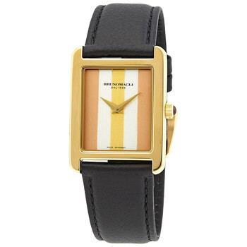 브루노 말리 시계 Bruno Magli Giulia 1502 Tricolor Quartz Ladies Watch 35.201502.GA