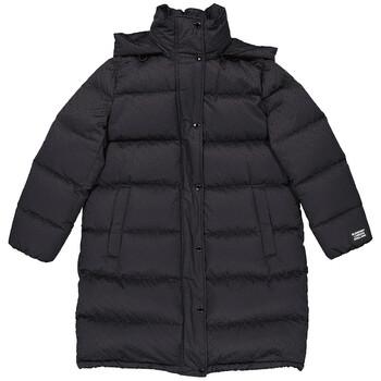 Burberry Black Detachable Hood Monogram Puffer Coat, Brand Size X-Small