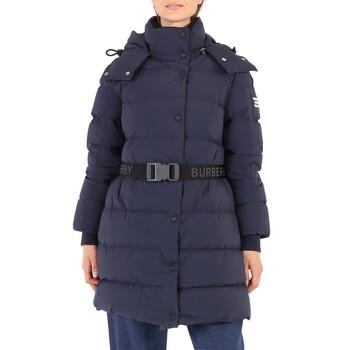 Burberry Ladies Dark Blue Hooded Puffer Jacket, Brand Size Large