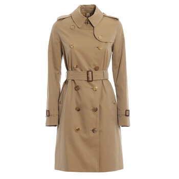 Burberry Ladies The The Mid-length Kensington Heritage Trench Coat, Brand Size 6
