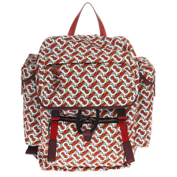 버버리 백팩Burberry Medium Monogram Print Backpack- Vermillion