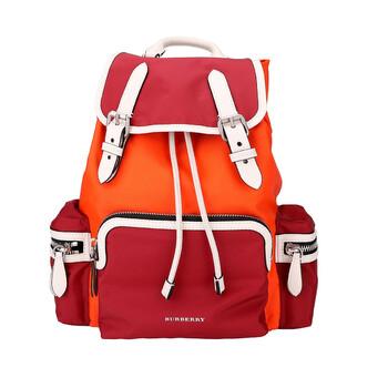 버버리 백팩 Burberry Parade Red Colour-block Medium Rucksack