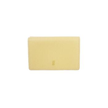 버버리 Burberry Small Grainy Leather Folding Wallet