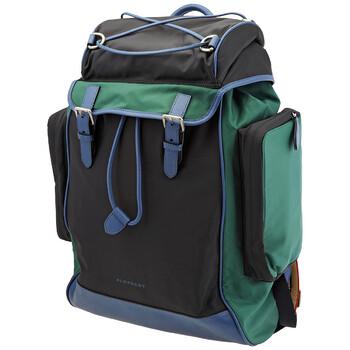 버버리 Burberry Tri-tone Nylon And Leather Backpack