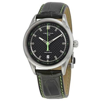 세르티나 시계 Certina DS 2 Precidrive Black Dial Mens Watch C024.410.16.051.02