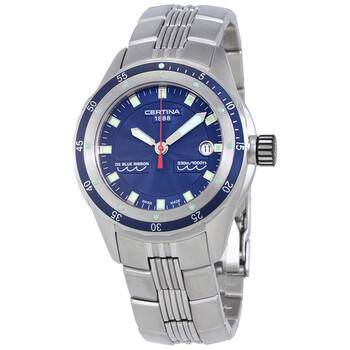 세르티나 시계 Certina DS Blue Ribbon Blue Dial Mens Watch C007.410.11.041.00