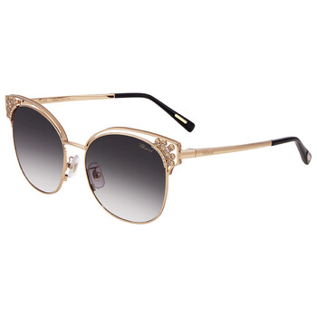 Deals on Chopard Smoke Gradient Cat Eye Ladies Sunglasses