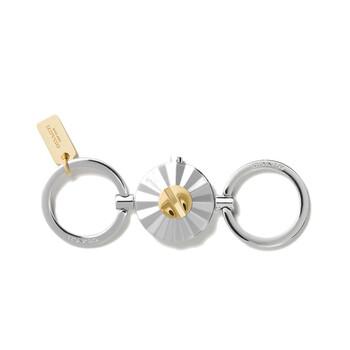 COACH Daisy Rivet Valet Key Ring