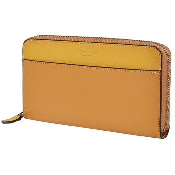 COACH Ladies Accordion Zip-around Wallet
