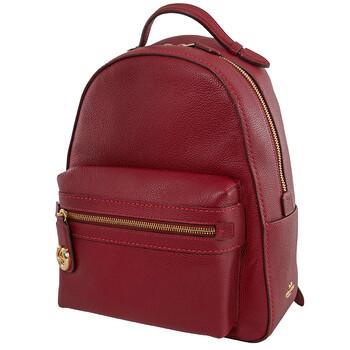 코치 백팩 COACH Ladies Deep Red Campus Backpack