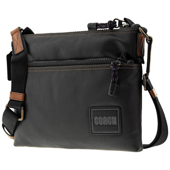 Mens 코치 COACH Patch Pacer Crossbody Bag In Black