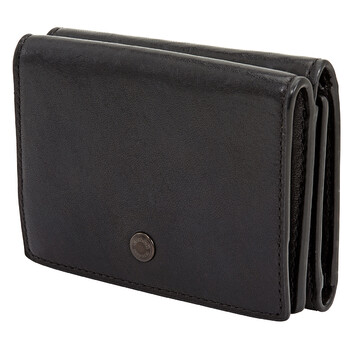 COACH Soft Leather Trifold Origami Coin Wallet