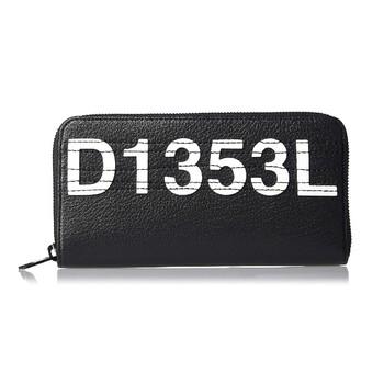 Diesel Mens Zippy Hiresh Logo Wallet in Black