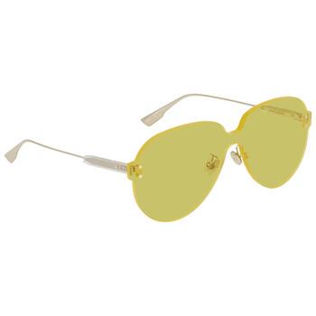 디올 여성 선글라스 Color Quake Yellow Shield Ladies Sunglasses DIORCOLORQUAKE340G