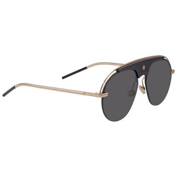 디올 에이에이터 여성 선글라스 Dior Dark Grey Aviator Ladies Sunglasses DIO(R)EVOLUTION 2M2/2K