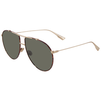 디올 에비에이터 여성 선글라스Green Antiglare Aviator Ladies Sunglasses DIORMONSIEUR1 2IK/O7 63