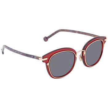 디올 지오메트릭 여성 선글라스 Grey Geometric Ladies Sunglasses DIORORIGINS2 788/KU 48