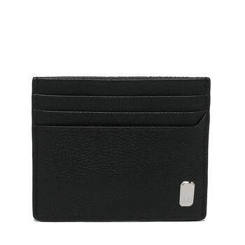 Dunhill Black Leather Belgrave Card Case