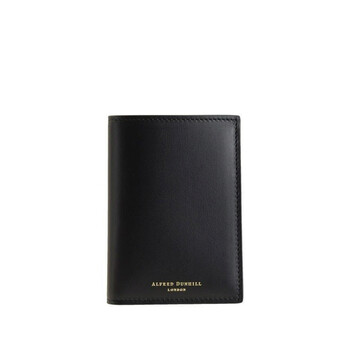 Dunhill Duke Business Black Leather Card Case