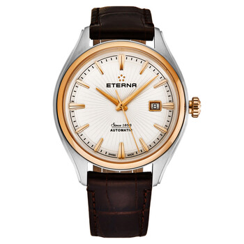 Deals on Eterna Avant Garde Automatic White Dial Mens Watch