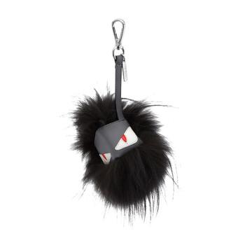 펜디 Fendi Mens Monster Bug Cube Charm Keyring