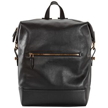 페라가모 백팩 Salvatore Ferragamo Ferragamo Dynamo Backpack Black 24A051-700840