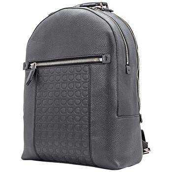 페라가모 백팩 Salvatore Ferragamo Ferragamo Mens Black Backpack 24A102 704098