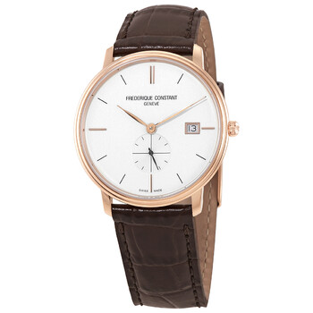 Deals on Frederique Constant Slimline Quartz Silver Dial Mens Watch