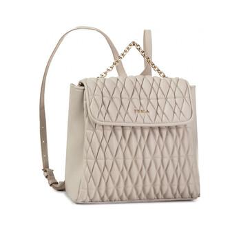 훌라 백팩 Furla Ladies Pin Cometa S Leather Backpack In Perla E