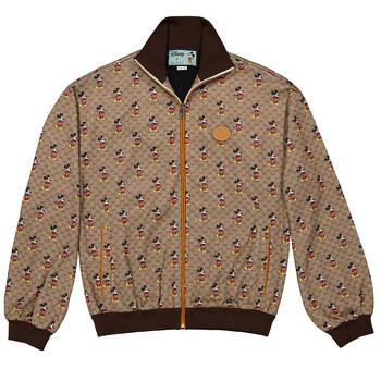 Brown Gucci X Disney Jacket, Brand Size XX-Small