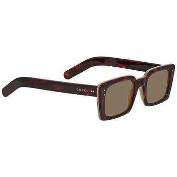 구찌 Gucci Brown Square Sunglasses GG0539S00452