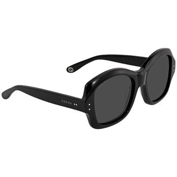 구찌 Gucci Grey Butterfly Sunglasses GG0624S 001 57