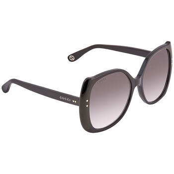 구찌 Gucci Grey Gradient Sunglasses GG0472S 001 56