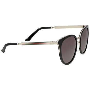 구찌 Gucci Grey Metal Sunglasses